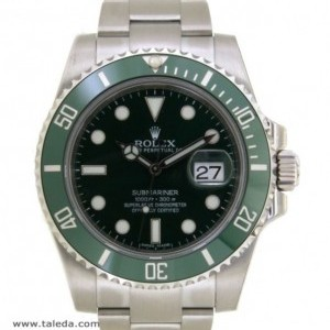 Rolex SUBMARINER HULK 116610LV IN STEEL 40MM 116610LV 76203