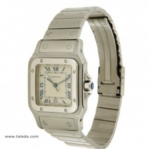 Cartier SANTOS 987601 IN STEEL 987901 74605