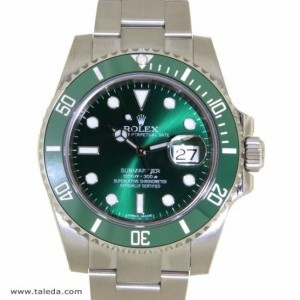 Rolex SUBMARINER HULK 116610LV IN STEEL 40MM 116610LV 76209