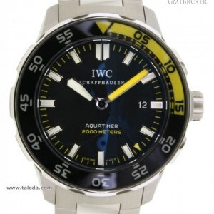 IWC AQUATIMER AUTOMATIC IW356801 IN STEEL 44MM IW356801 75151