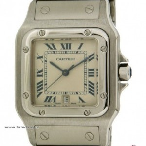 Cartier SANTOS 987601 IN STEEL 987901 74611