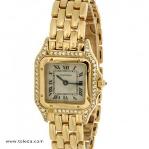 Cartier PANTHRE IN YELLOW GOLD AND DIAMONDS 8057915 74801