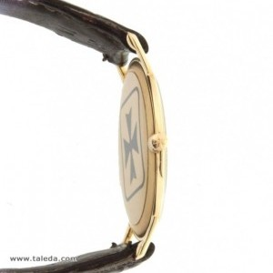 Vacheron Constantin ULTRAPIATTO 6351 IN YELLOW GOLD AND LEATHER 32MM 6351 74407
