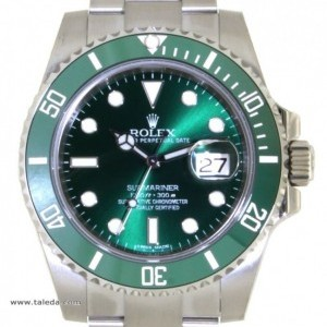 Rolex SUBMARINER HULK 116610LV IN STEEL 40MM 116610LV 76201