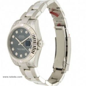 Rolex DATEJUST 178274 IN STEEL AND DIAMONDS 31MM 178274 74957