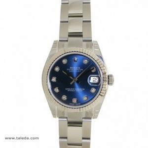 Rolex DATEJUST 178274 IN STEEL AND DIAMONDS 31MM 178274 74955