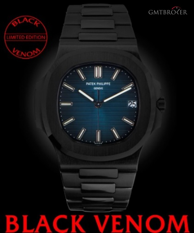 Patek Philippe Nautilus 5711 Black Venom Limited Edition 110 Dlcp