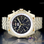 Breitling For Bentley 675 Big Date 18kt Gelbgold mit Goldban