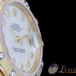 Rolex Datejust Pearlmaster Mother of Pearl Perlmutt Diam