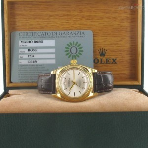 Rolex Ovetto Bubble Back Ref 3131 3131 72509