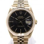 Rolex Datejust Yellow Gold 16238 Full Yellow Gold 18k Bl