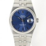 Rolex Oysterquartz 17014 Blue Dial Full Steel Blue Dial