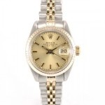 Rolex Lady Date 6917 Full Yellow Gold 18k And Steel Gold
