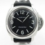 Panerai Luminor Pam 112 Steel And Rubber Black Dial With A