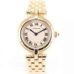Cartier Panthre Ronde Full Gold Full Yellow Gold 18k Cream