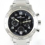 Breguet Type Xx 3820 Full Steel Black Dial Chronograph 2 C