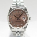 Rolex Datejust Modern Diamonds 16234 S Series Cadran Ros
