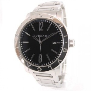 d2c10b0fd937 Yükle (300x300)Bulgari Solotempo Bb 41 S Full Set Full Steel Black Dial S