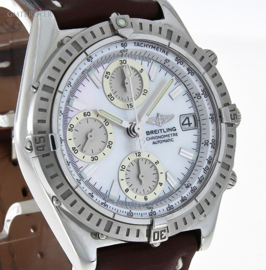 On Order Breitling Chronomat GT MOP Dial NOS Ref A13352 268639