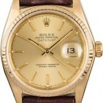Rolex 18018 Yellow Gold Datejust