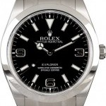 Rolex Mens PreOwned  Explorer 214270 Stainless Steel