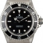 Longines Certified  Submariner 14060 No Date Model