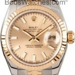 Rolex Ladies Two Tone Datejust New Model 179173