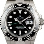Rolex Mens  GMT-Master II 116710 Black Dial