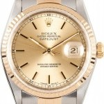 Rolex Pre Owned Mens Datejust 16233