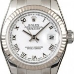 Rolex Datejust 179174 White Roman