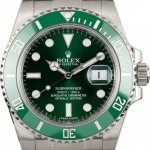Rolex Anniversary Submariner 116610V Green