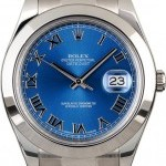 Rolex 109678-1  Datejust Blue Dial 116300