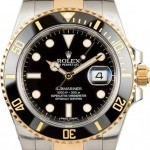 Rolex Black Submariner 116613 Certified Pre-Owned