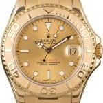Rolex Pre-Owned  Yachtmaster Ladies 18k Gold 69628