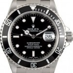 Blackberry Submariner Stainess 16610T Black