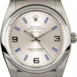 Rolex Air-King 114200 Silver Index