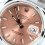 Rolex Used  Date 115200 Salmon Dial