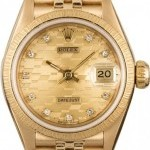Rolex PreOwned  Lady Datejust 69178 Chevy Diamond Dial