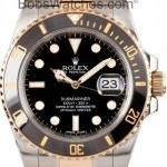 Rolex New  Submariner 116613 Blue Dial