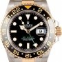 Rolex Used  GMT Master II Stainless Steel and Gold Mens