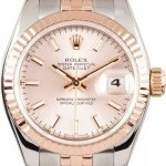 Rolex Lady  DateJust Rose Gold Jubilee