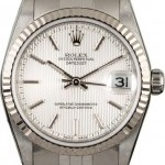 Zenith Datejust 78274 Silver Tapestry Dial 31MM
