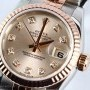 Rolex Rose Gold Ladies Datejust
