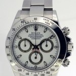 Rolex Daytona Steel Mens Chronograph Watch BoxPapers 116