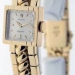 Rolex Precision 8821 Ladies 18k Yellow Gold Dress Watch