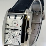 Patek Philippe 5200 Gondolo 18k White Gold 8 Day Watch BoxPapers