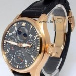IWC Big Pilot Perpetual Calendar 18k Pink Gold Watch L