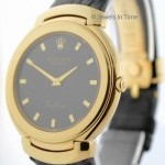 Rolex Mens Cellini 18k Yellow Gold Quartz Watch 6623