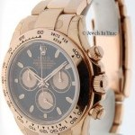 Rolex Daytona 116505 18k Everose Gold New Random Numbers