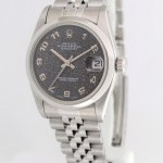 Rolex Datejust 68240 N Jubilee Dial Stainless Steel Mids